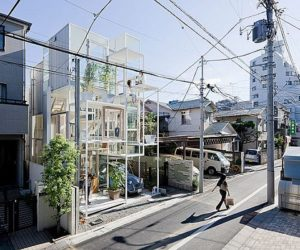 Unconventional house project in Tokyo