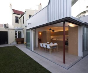 Two-storey house terrace remodeled