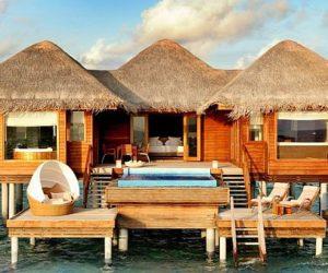 The peaceful Huvafen Fushi retreat in Maldives