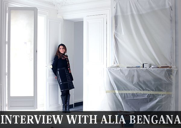 Interview with Alia Bengana a Paris-based architect