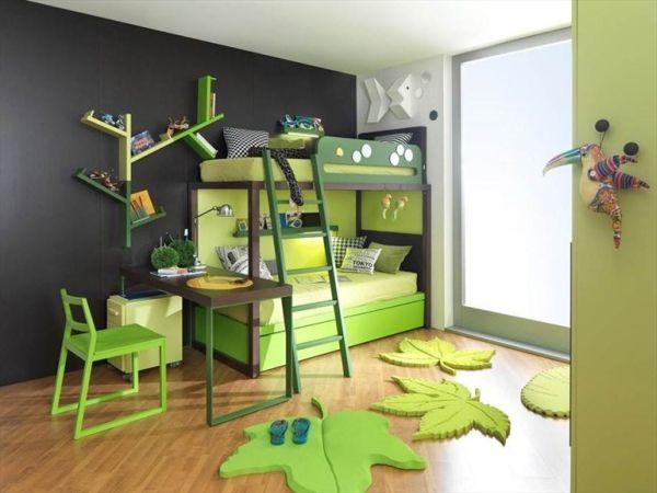 & Saving space and playful bunk beds