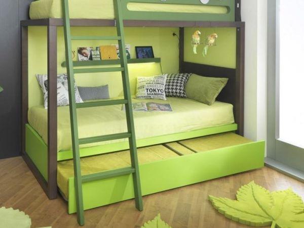 Saving Space And Playful Bunk Beds