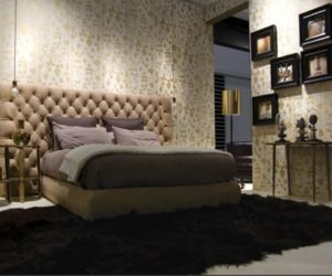 Stylish Upholstered Bed From Usona