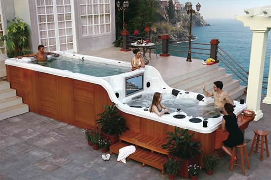 - Jacuzzi Luxema 8000 With Bar, TV And Sound System
