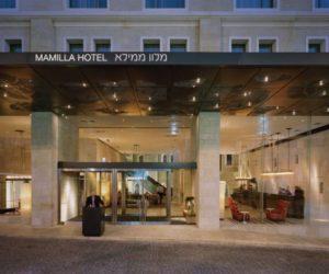 Elegant Mamilla Hotel in Jerusalem by Safdie Architects