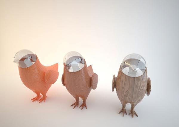 Beautiful Bird Lamps Collection