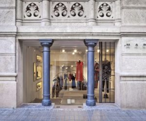Marni shop interior design in Barcelona
