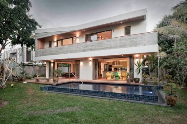 A house duo in Mauritius by Rethink Studio
