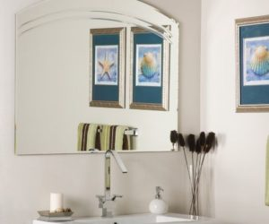 ... Angel Wall Mirror For Bathroom Or Entryway