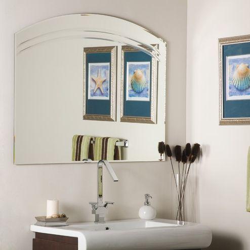 Angel Wall Mirror For Bathroom Or Entryway