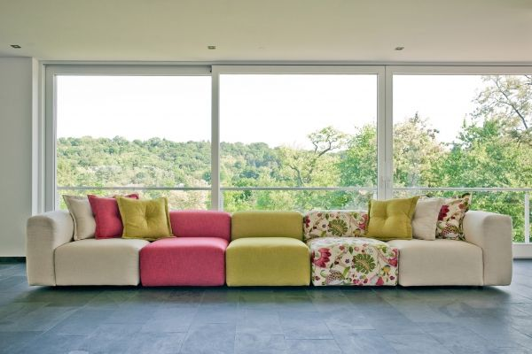 living room with two couches 7 ways to update your sectional sofas 21583