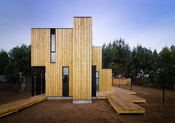 Superb Modular House In Chile Made From Insulated Panels