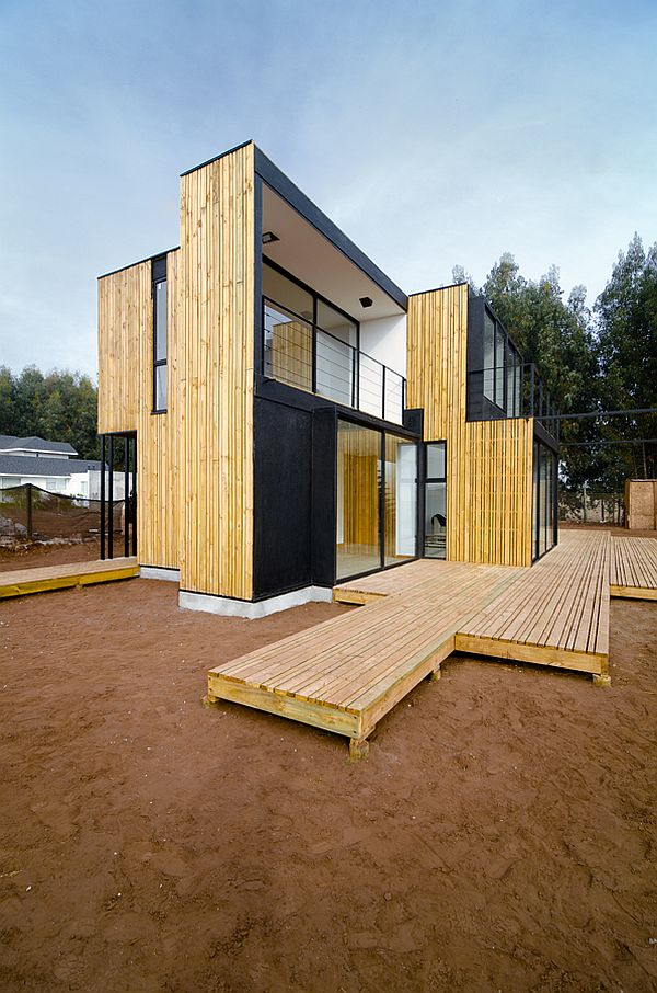 Modular House In Chile Made From Insulated Panels