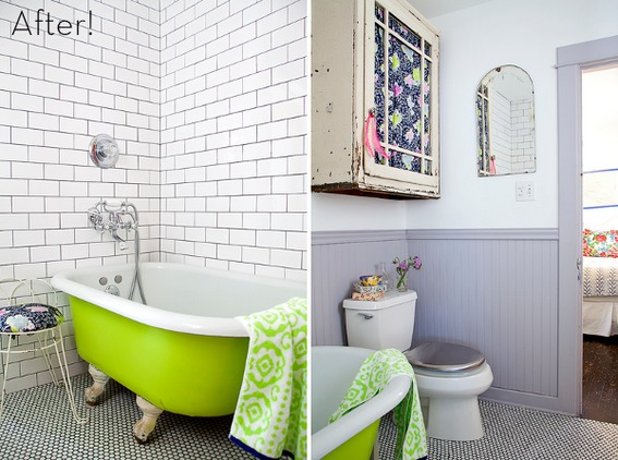 Using A Monochromatic Theme, Wherever You Choose, Will Create A Crisp,  Clean Look U2026 Which Is Great For A Bathroom. But Adding A Pop Of Neon To A  One Color ... Awesome Design
