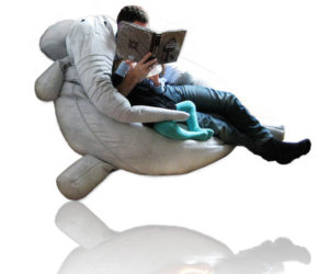 Elephant shaped kids chair
