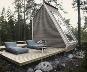 Finnish 96 sq.ft Micro-cabin