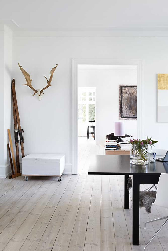 The Stylish Home Of Danish Interior Designer Tina Offshore Wind