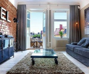 Extraordinary one bedroom flat in the middle of Stockholm