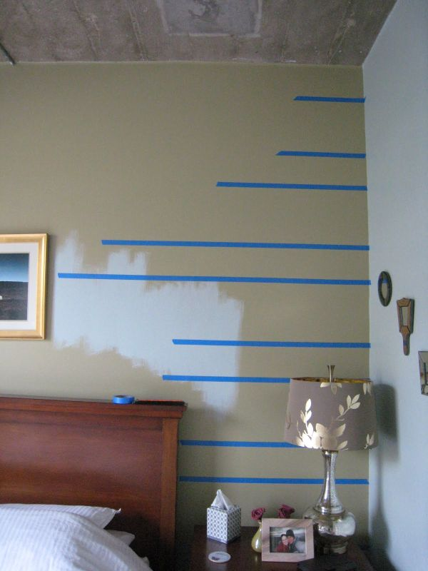 horizontal stripes painting tips