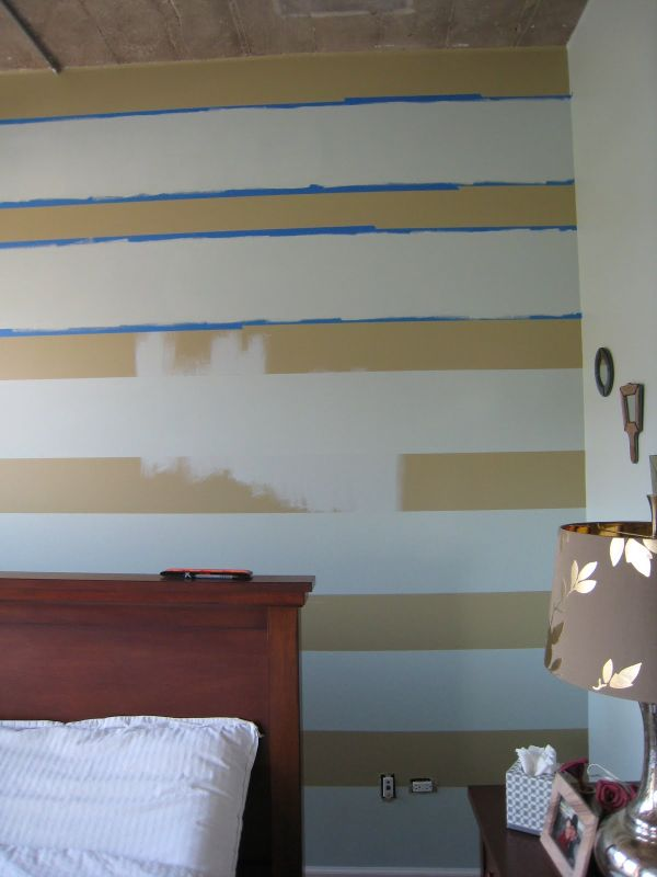 Horizontal stripes painting tips for Painting horizontal stripes on walls tips
