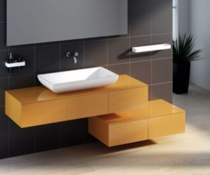 The Peter Pan washbasin unit by Bruna Rapisarda