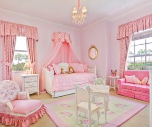 Pretty in Pink: Designing a Little Girl's Room
