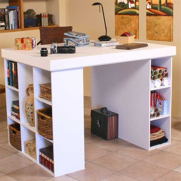 Versatile Work Center With Huge Work Surface