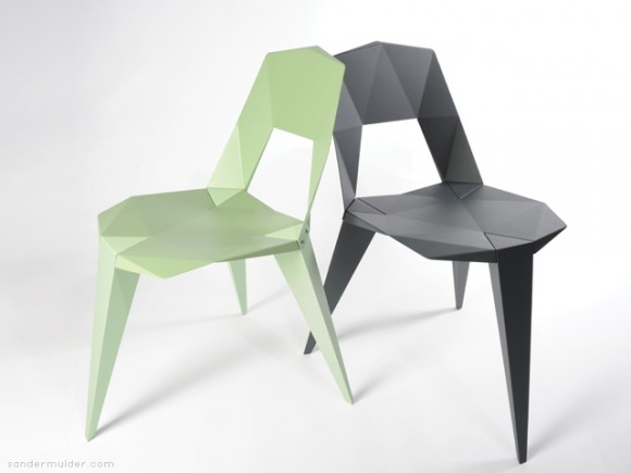 Beautiful Shape Origami Chairs