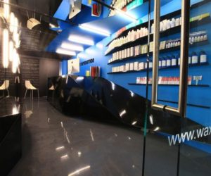 The colorful Wax Revolution salon in Mexico