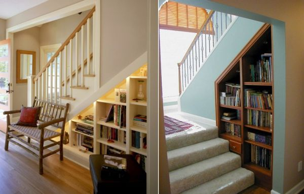 Staircase Shelving 60 under stairs storage ideas for small spaces making your house