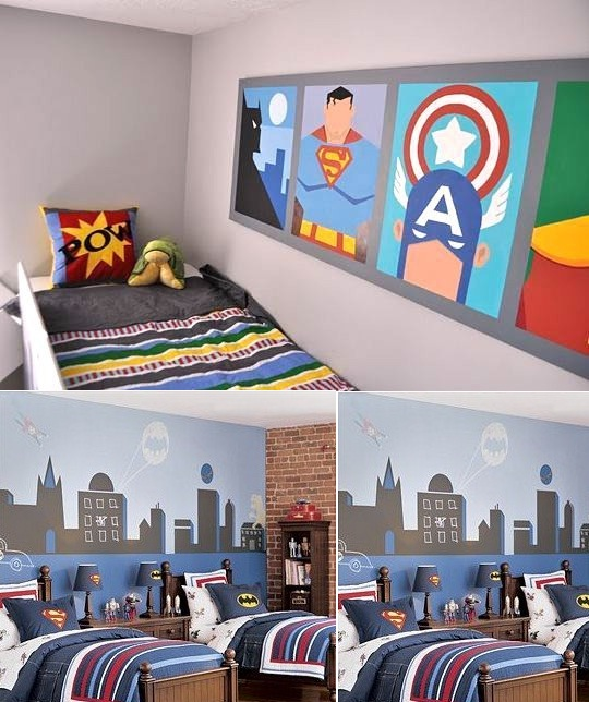 Ebabee Likes 5 Of The Best Shared Kids Rooms: Wall Mural Inspiration & Ideas For Little Boys' Rooms