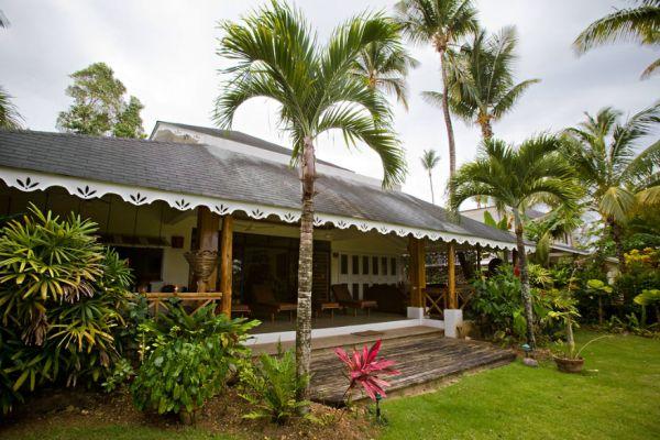 Three-bedroom beachfront villa in The Dominical Republic
