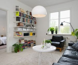 Modern two-room apartment in Gothenburg