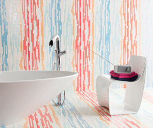 Trend Alert: Colored Glass Accents · Modern Tile Design Ideas By Trend Awesome Ideas