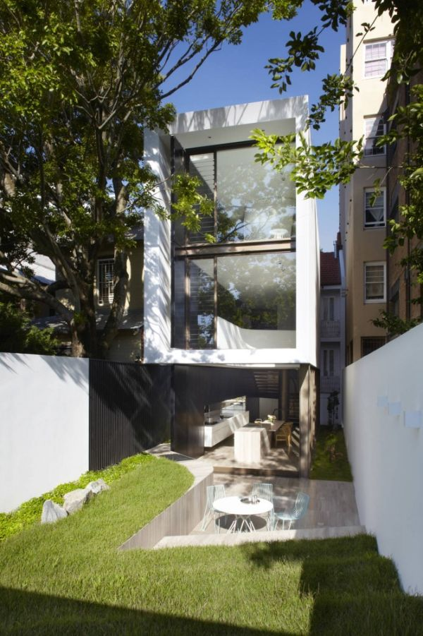 A 1960's semidetached house that underwent a complete