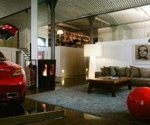 New York-style loft in Vienna
