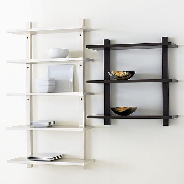 Simple Wall Mounted Bookcase