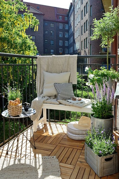 apartment balcony furniture. brilliant apartment home decorating trends u2013 homedit in apartment balcony furniture n