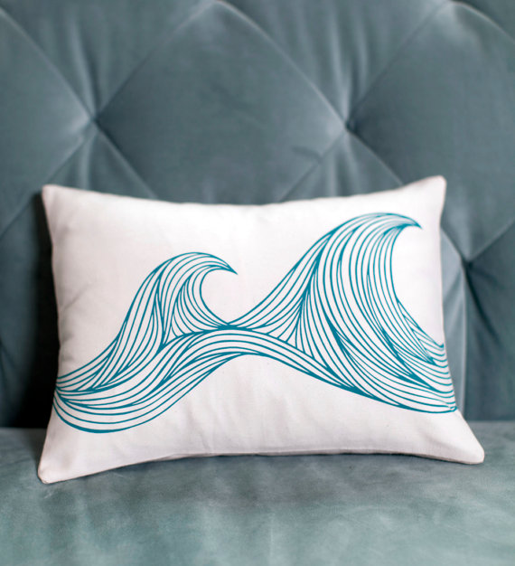 Waves Pillow