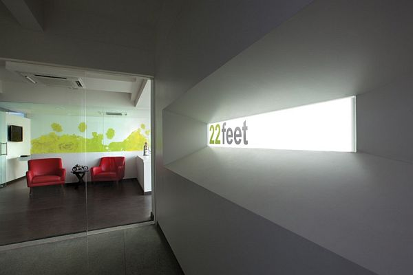 22 feet advertising agency office interior design for Interior design office programming questionnaire