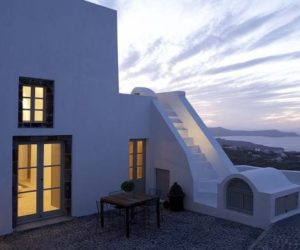The beautifully restored White Villa