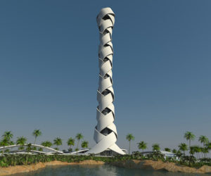 Another Huge Building in Dubai called Woven Tower