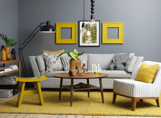 grey and yellow paint combinations living room view in gallery hot color combo yellow gray