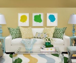 Bright Color Combo: Yellow & Green
