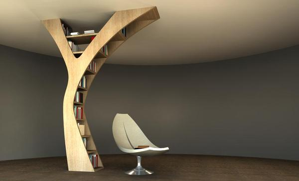 view in gallery - Weird Bookshelves