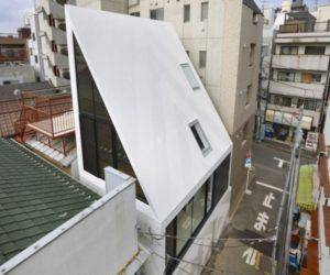 Unusual house structure in Tokyo