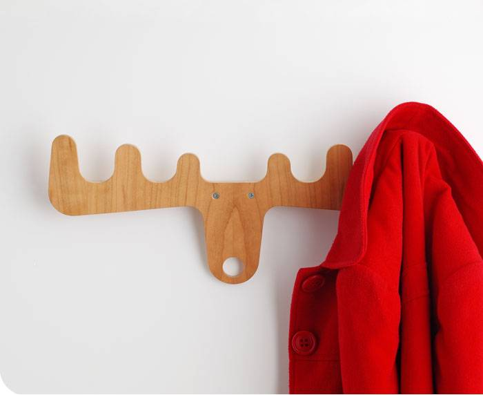 Moose On The Loose Coat Rack Beauteous Jig Silver Coat Rack
