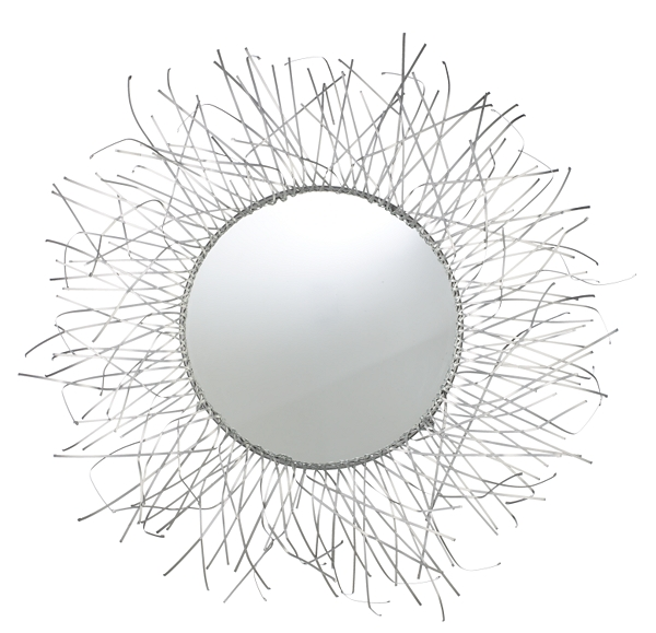 Seaweed Round Mirror