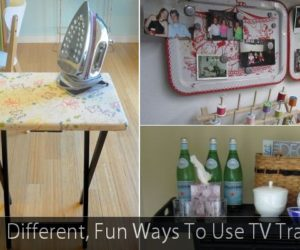 5 Fun Ways To Use TV Trays