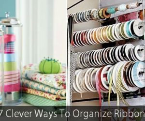 7 Clever Ways To Organize Ribbon